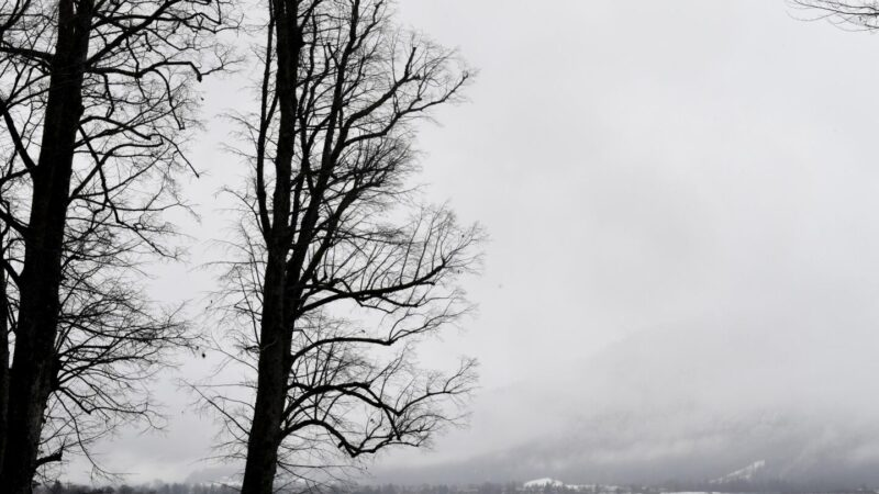 Winterwetter am Tegernsee